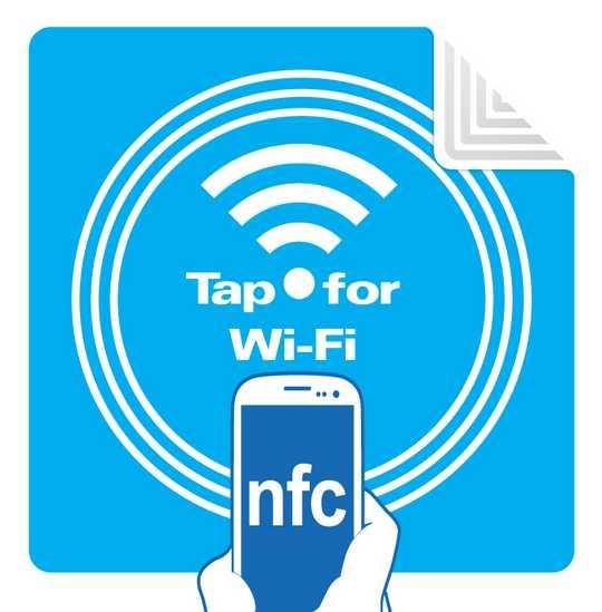 Wifi Tap NFC Tag